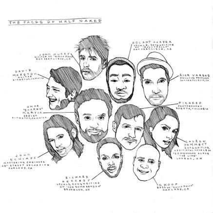 Half Naked Album Credits