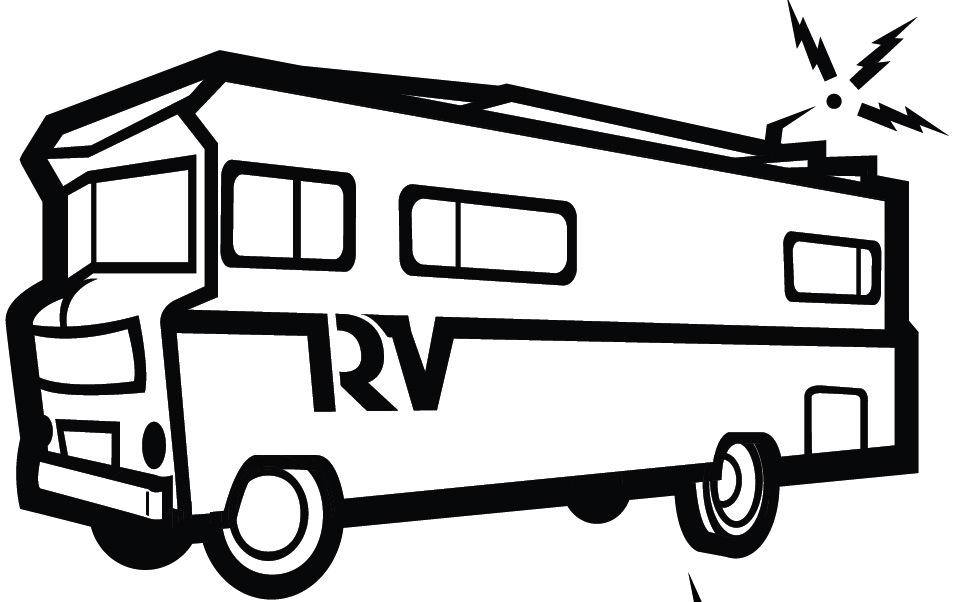 camper trailer logo   fantastic white camper trailer logo