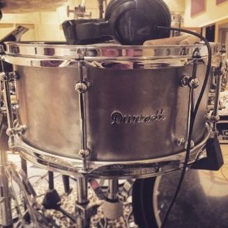 Dunnett Snare in Live Room A